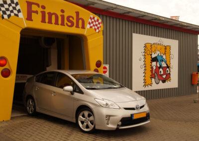 weer een mooie schone auto!